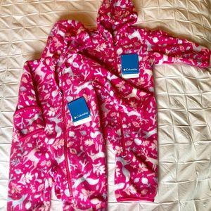 Columbia Baby Snow Suits - Fleece 6-12 months